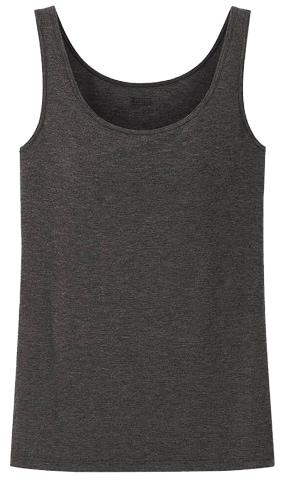 Uniqlo heattech camisole | 40plusstyle.com