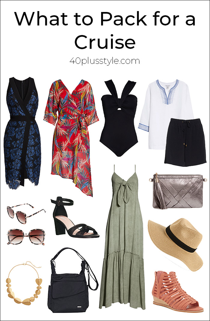 Cruise Clothing Essentials: What to Pack for a Cruise | 40plusstyle.com