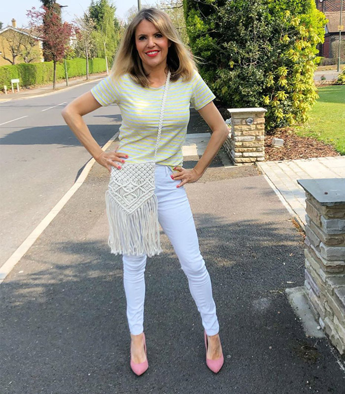 Post image for The best white jeans for women over 40 – our top picks