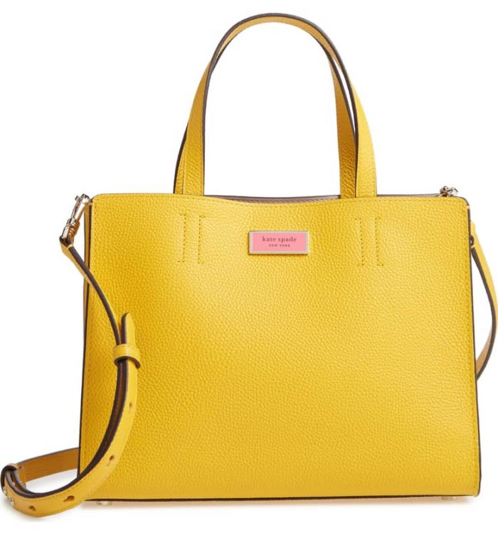 The perfect yellow handbag for women over 40 | 40plusstyle.com