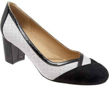 Trotters phoebe pump | 40plusstyle.com