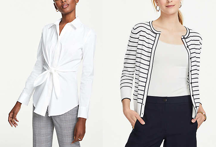 Ann Taylor clothes for women over 40 | 40plusstyle.com