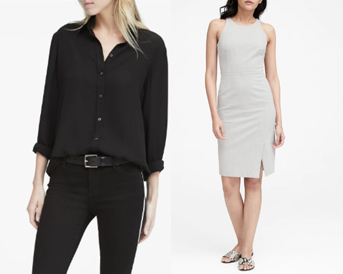 Banana Republic clothes for women over 40 | 40plusstyle.com