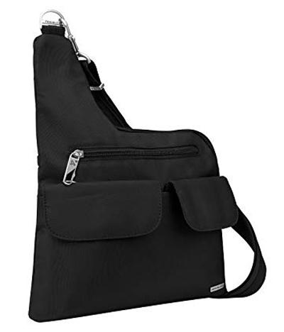 Best travel purses - Travelon Luggage Anti-Theft Cross-Body Bag   40plusstyle.com