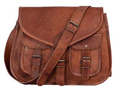 Leather Crossbody Bag | 40plusstyle.com