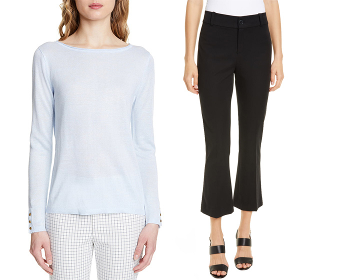 Club Monaco clothes for women over 40 | 40plusstyle.com