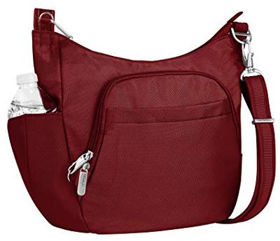 Travelon Anti-Theft Cross-Body Bucket Bag | 40plusstyle.com