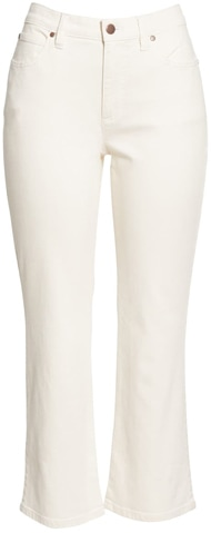 crop flare jeans | 40plusstyle.com