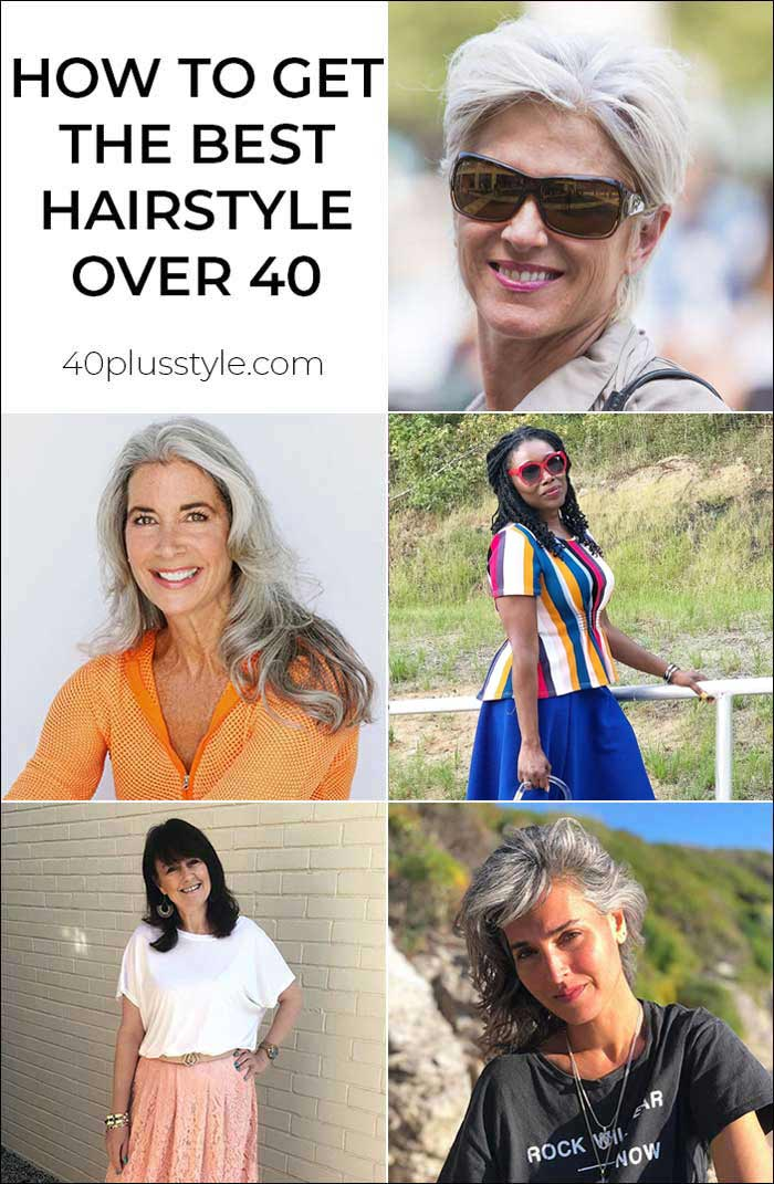 How to get the best hairstyle over 40 | 40plusstyle.com