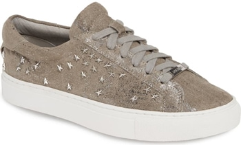 JSlides embellished sneaker | 40plusstyle.com
