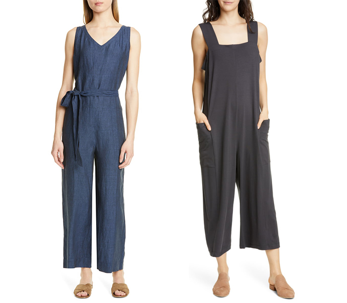 Jumpsuits from Eileen Fisher | 40plusstyle.com