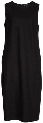 wool lantern dress | 40plusstyle.com