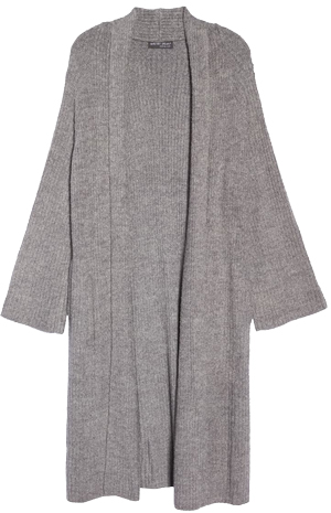 lounge cardigan for women over 40 | 40plusstyle.com