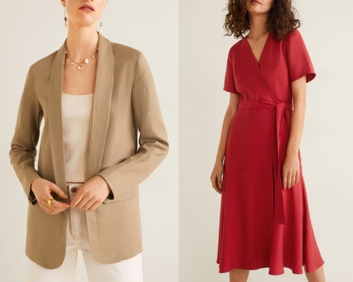 Mango clothes for women over 40 | 40plusstyle.com