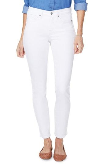 NYDJ 'Alina' skinny jeans   40plusstyle.com