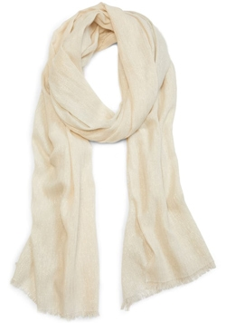 organic cotton blend scarf | 40plusstyle.com