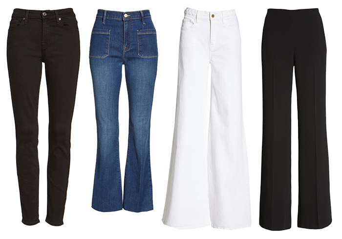 Pants for the eurochic style personality | 40plusstyle.com