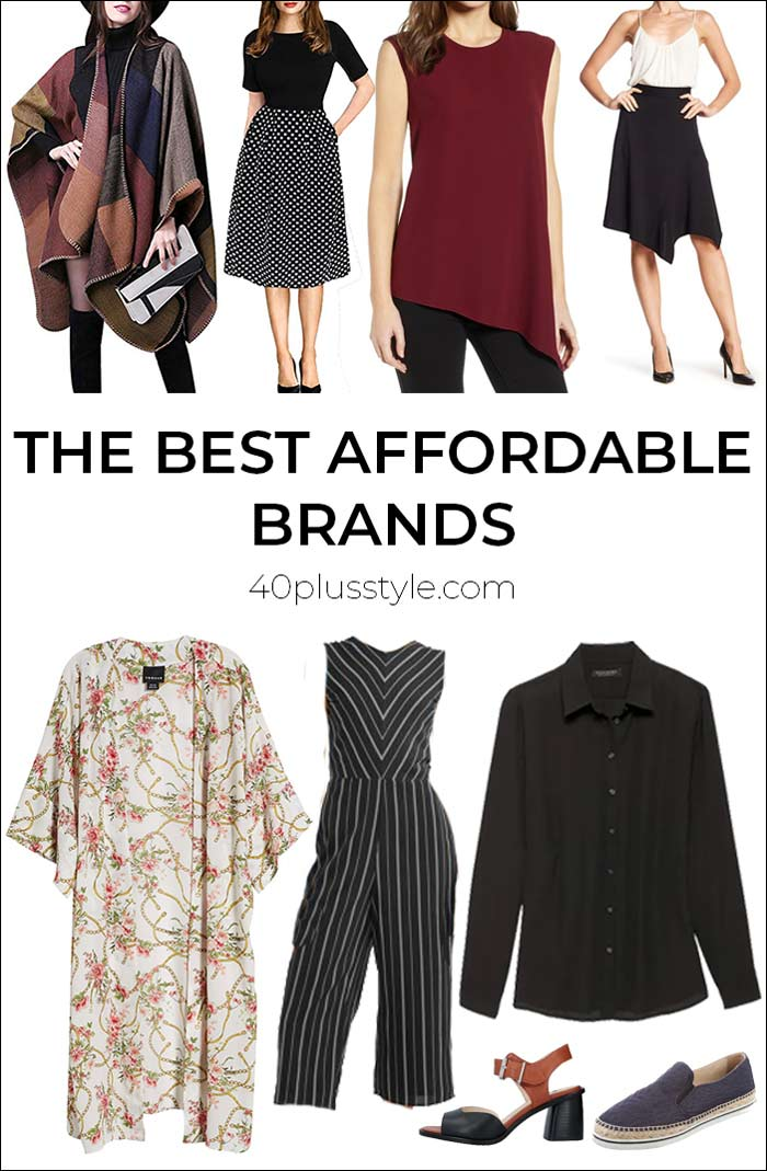 The best affordable brands for women over 40 | 40plusstyle.com