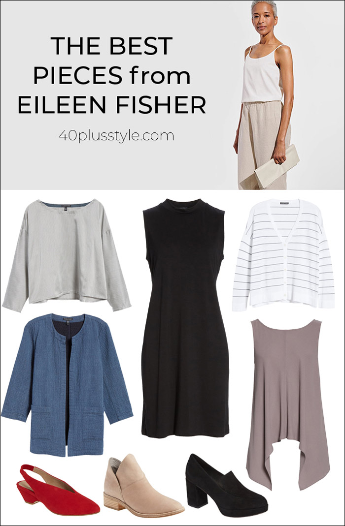 The best pieces from Eileen Fisher | 40plusstyle.com
