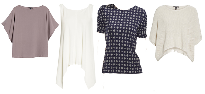 Tops for the eurochic style personality | 40plusstyle.com