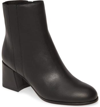 block heel bootie | 40plusstyle.com