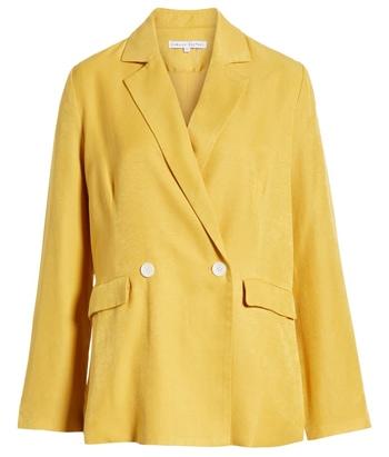 yellow blazer | 40plusstyle.com