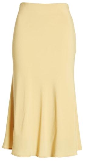 yellow skirt   40plusstyle.com
