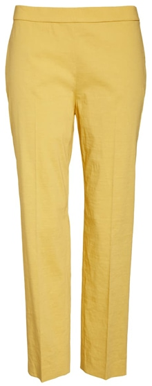 yellow trousers | 40plusstyle.com