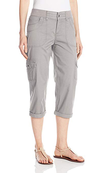 cargo capris for women over 40 | 40plusstyle.com