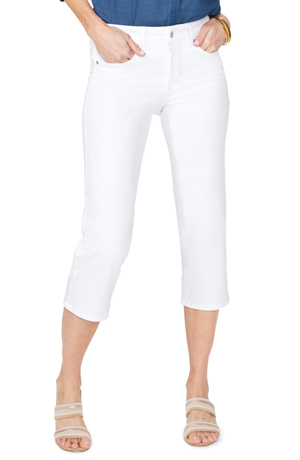 a63bdbc68ba7f Another pair of white capris I like. white capri pants for women ...