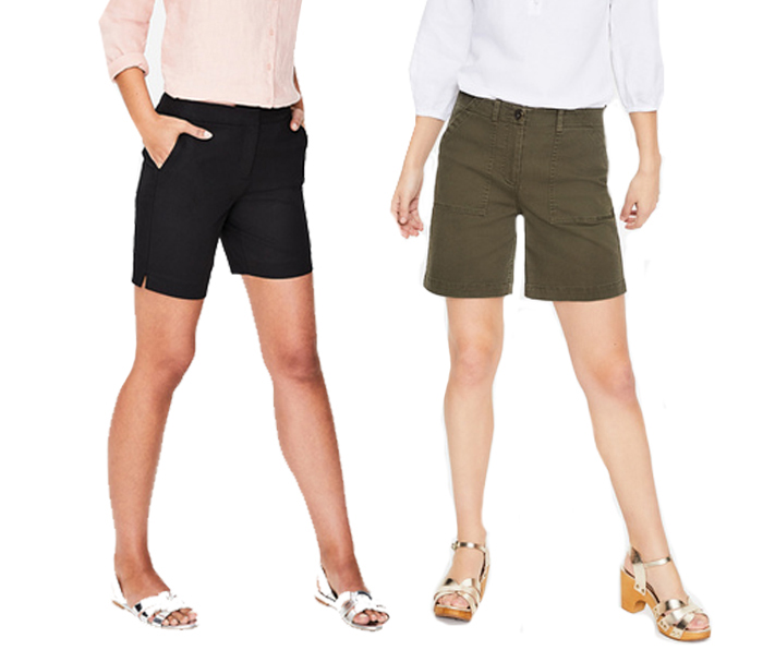 Boden shorts | 40plusstyle.com