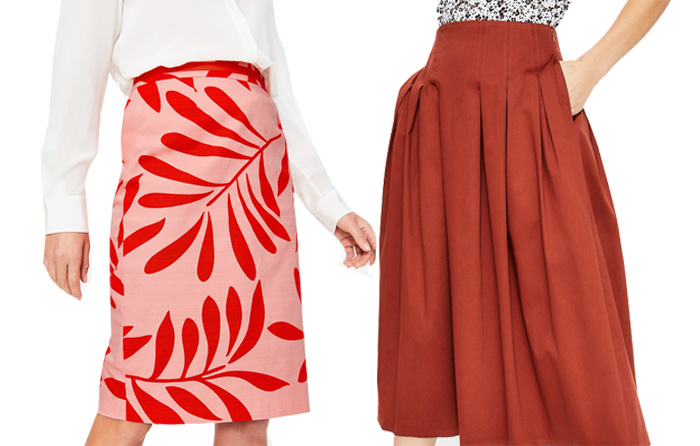 Boden skirts | 40plusstyle.com