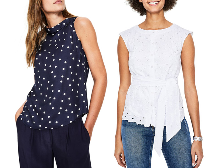 Boden tops | 40plusstyle.com