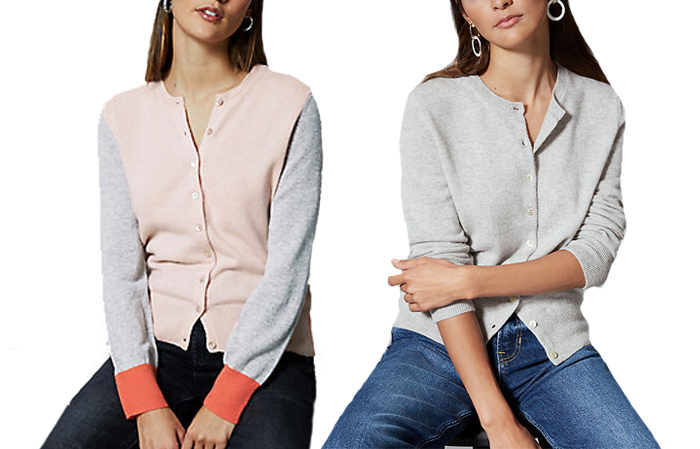 Marks and Spencer cardigans | 40plusstyle.com