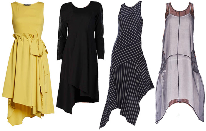 dresses for the architectural style personality | 40plusstyle.com