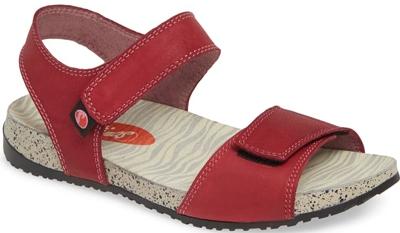 Softinos by Fly London Kiva sandal   40plusstyle.com
