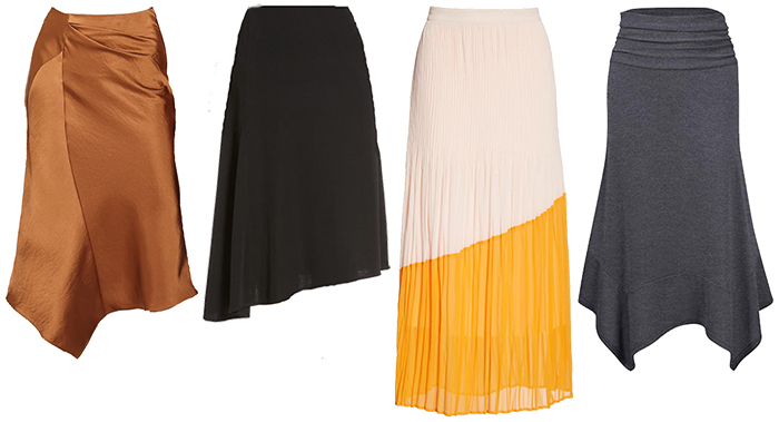skirts for the architectural style personality | 40plusstyle.com