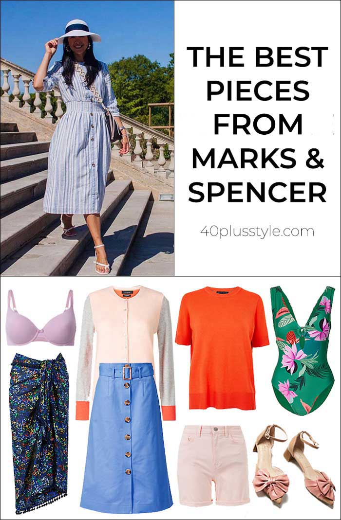 The best pieces from Marks & Spencer summer 2019 collection | 40plusstyle.com