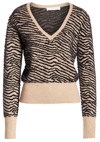 ASTR the Label tiger pullover sweater from the Nordstrom Anniversary Sale | 40plusstyle.com