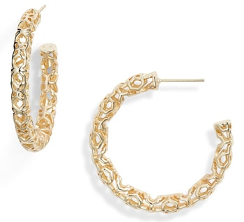 Kendra Scott hoop earrings from the Nordstrom Anniversary Sale | 40plusstyle.com