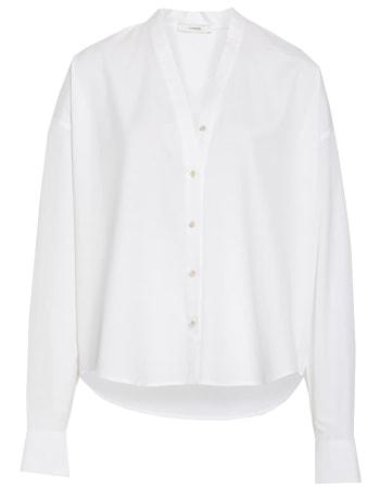 White cotton blouse   40plusstyle.com