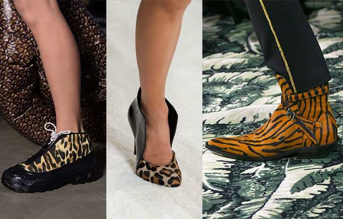 Animal print shoes for fall 2019 | 40plusstyle.com