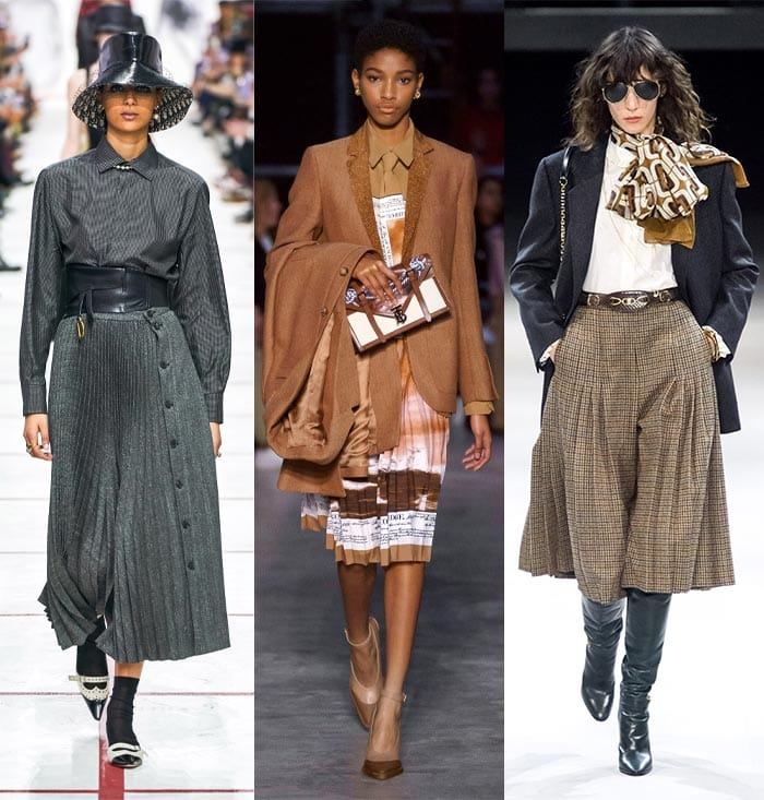 Elegant pleats in the fall 2019 trends  40plusstyle.com