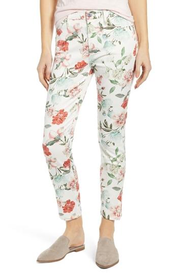 floral jeans | 40plusstyle.com