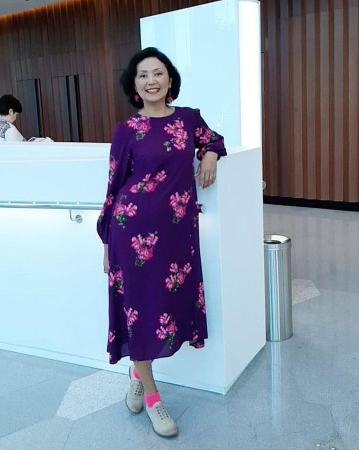 floral maxi dress |40plusstyle.com