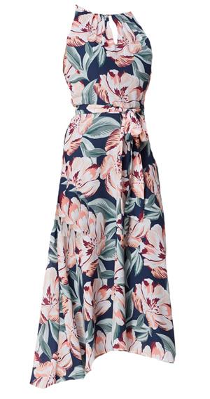 floral maxi dress | 40plusstyle.com