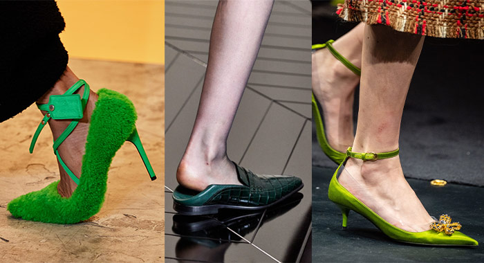 Green is the new black for fall 2019 | 40plusstyle.com