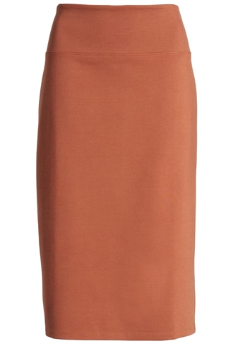 pencil skirts for women for the hourglass body type | 40plusstyle.com