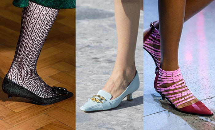 Kitten heels for fall 2019 | 40plusstyle.com