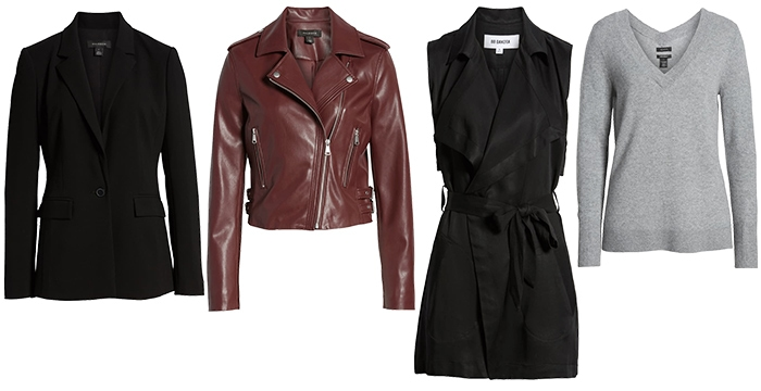 Outerwears for white tops | 40plusstyle.com